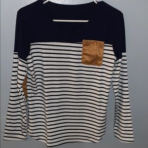 Stripped long sleeve
